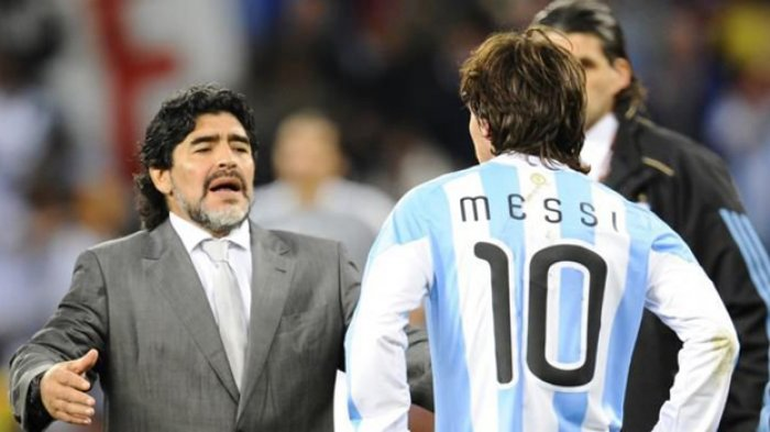 Jangan Bully Messi Jika Argentina Gagal Kalahkan Brazil di Copa America 2021, Maradona Saja Tak Bisa