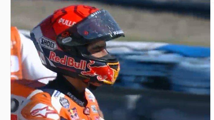 Marc Marquez Kecelakaan Lagi di Sirkuit Jerez, Sempat Hilang Ingatan Usai Diselamatkan: Main Aman