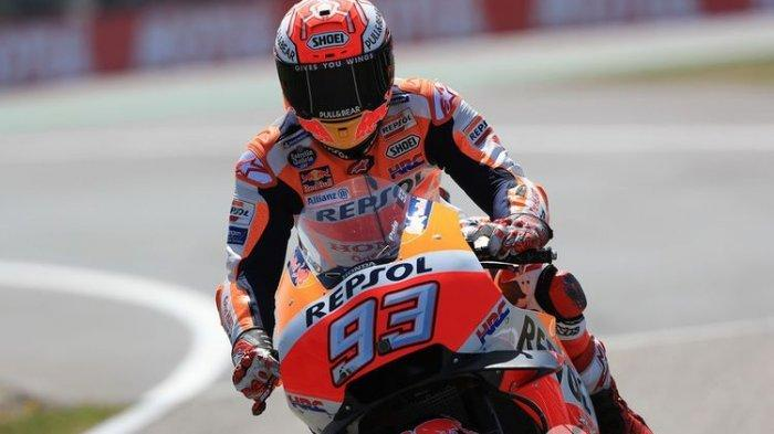 Hasil Race Moto GP Perancis : Marc Marquez Juara, Posisi 5 Besar Didominasi Tim Ducati
