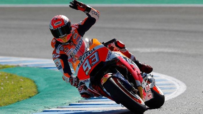 MotoGP 2021 di Jerez, Mimpi Buruk Hantui Marc Marquez, Tikungan Ketiga Bikin Dia Absen 9 Bulan