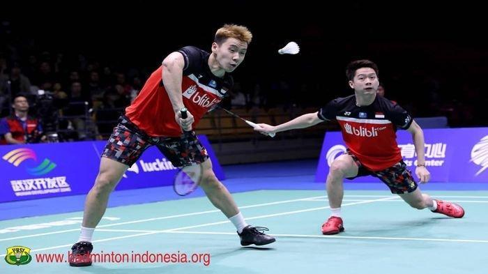Hasil Indonesia Masters 2020 - Kalahkan Juara SEA Games, Marcus/Kevin ke Final