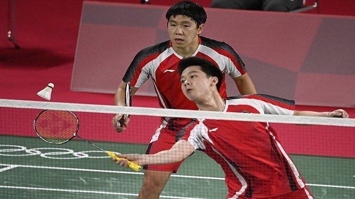 Jadwal Tayang Badminton Olimpiade Tokyo 2021 Hari Senin 26 Juli Live TVRI Indosiar Marcus/Kevin Main