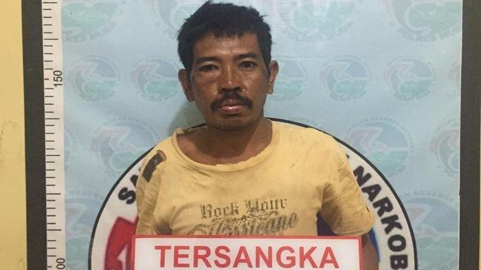 Sat Narkoba Polres Muba Tangkap Bandar Narkoba dan Pemilik Senpi di Kecamatan Batang Hari Leko - markoasi-tersangka-senpi.jpg