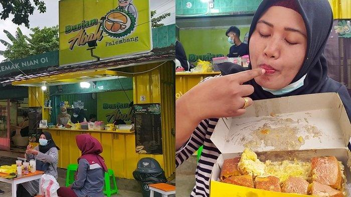 Makan Martabak Enak Isi Durian di Martabak Durian Abah Palembang, Kamu Pencinta Duren WAJIB COBA !