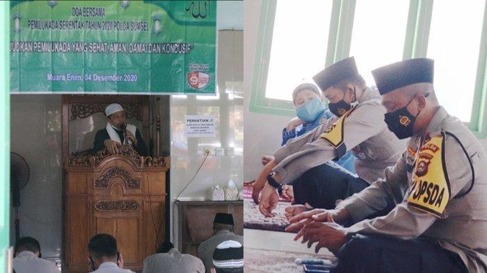WAKAPOLDA Sumsel dan Kapolres Muaraenim Gelar Doa Bersama, Minta Pilkada Aman dan Bebas Covid-19