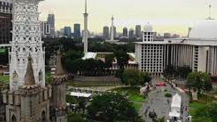 KISAH Masjid Istiqlal dan Gereja Katedral Bangun Terowongan Silaturahmi, Kerap Berbagi Parkiran