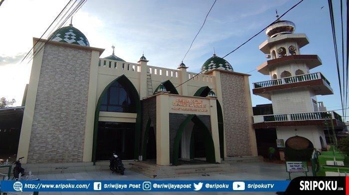 Penampakan Masjid Terbesar di Empat Lawang, Didirikan Pada Tahun 1930, Awalnya Bahan Utama dari Kayu