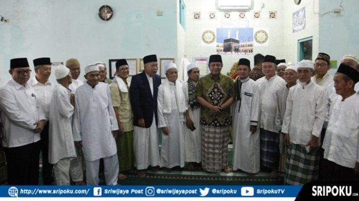 Jemaah Masjid Jami'atul Mukminin, Do'akan Herman Deru Sukses Wujudkan Sumsel Maju