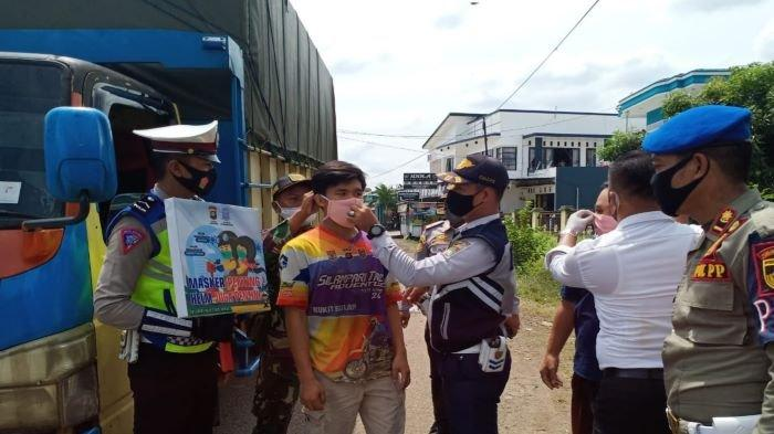 Gelar Ops Yustisia Covid-19, Polres Musirawas Tegur dan Tertibkan Warga tak Gunakan Masker
