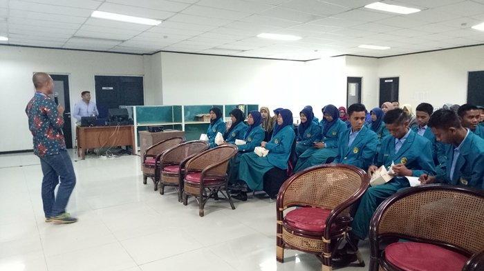 Puluhan Siswa dan Guru SMK PP N Sembawa Banyuasin Berkunjung ke Graha Tribun Belajar Jurnalistik