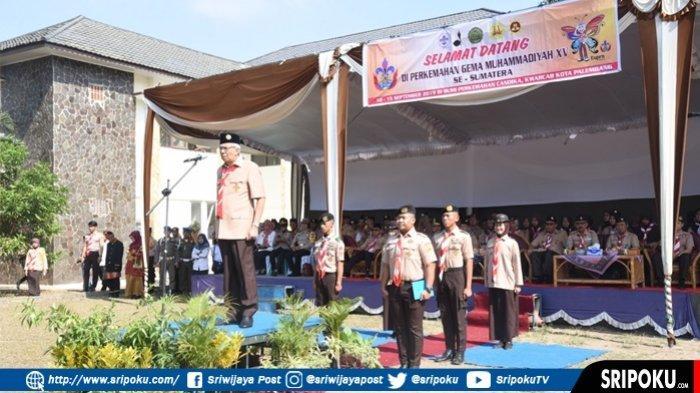 Mawardi Yahya Buka Perkemahan Gema Muhammadiyah ke -15 Se Sumatera