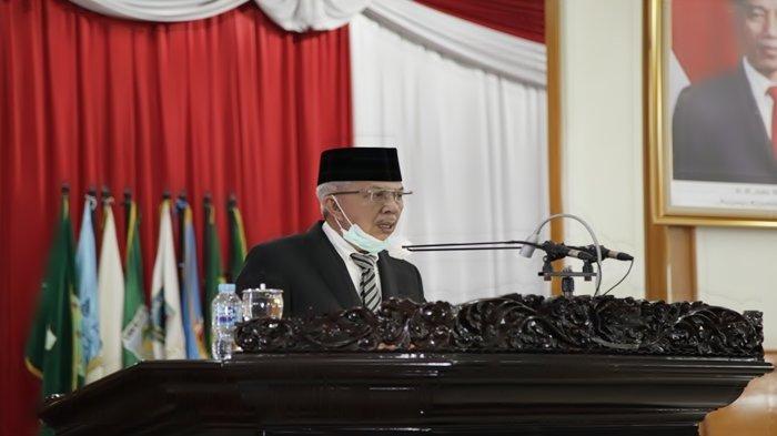 Wagub Mawardi Yahya Sampaikan Jawaban Gubernur Terhadap Pemandangan Umum Fraksi-Fraksi DPRD Sumsel