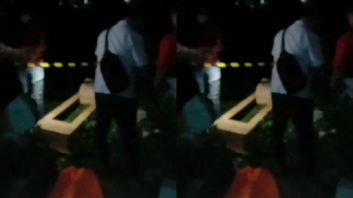 Heboh, Penemuan Diduga Jasad Bayi dalam Kardus di TPU Kubah Talang Kelapa, Kondisinya tak Utuh