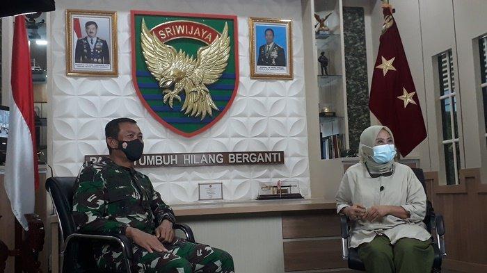 Covid-19 di Sumsel Belum Mereda, Jenderal TNI AD Bintang Dua Ini Ingatkan Jika Itu Masalah Bersama