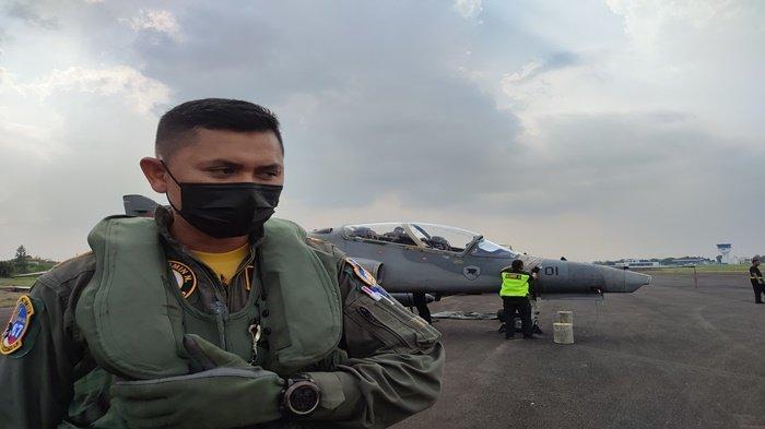 Cerita Mayor PNB Arie, Pulang Kampung ke Palembang Pakai Pesawat Tempur Hawk 100/200