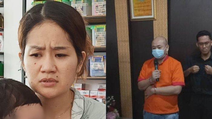 Melisa istri suami yang melakukan penganiayaan pada suster RS Siloam Palembang yang mendadak viral
