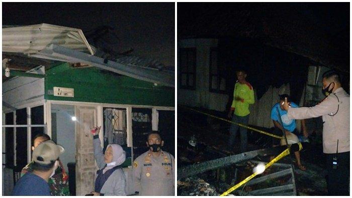 Rumah Panggung di Sungai Gerong Plaju Ludes Terbakar, Gara-gara Api Lilin Sambar Kain Gorden