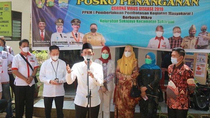 Palembang-Lubuklinggau Diberlakukan Pengetatan PPKM Mikro, Mal Dibuka Sampai Pukul 17.00
