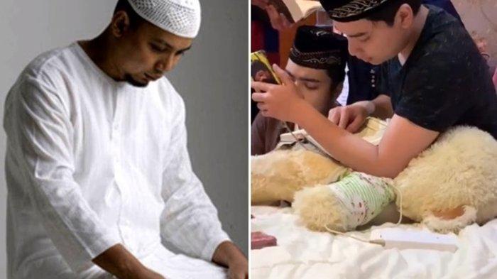 Wafat Akibat Kanker, Putranya Bagikan Kondisi Jenazah Ustaz Arifin Ilham, 'Wajahnya Senyum Ikhlas'