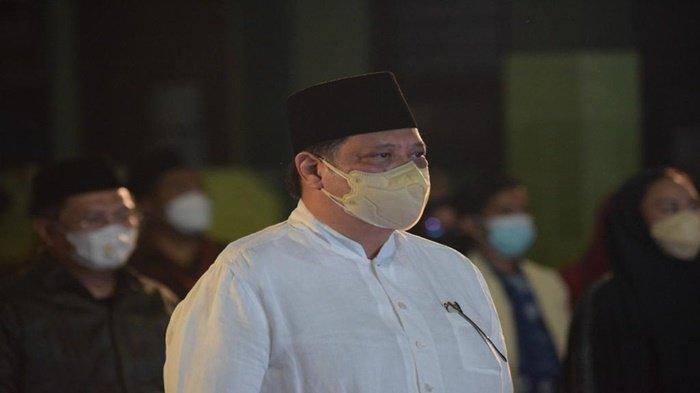 Menteri Koordinator Bidang Perekonomian Dr Ir H Airlangga Hartarto MMT MBA IPU