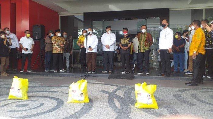 Menko Airlangga Hartarto Tinjau Penanganan Covid-19 di Sulawesi Tengah, Apresiasi Kebijakan Pemda