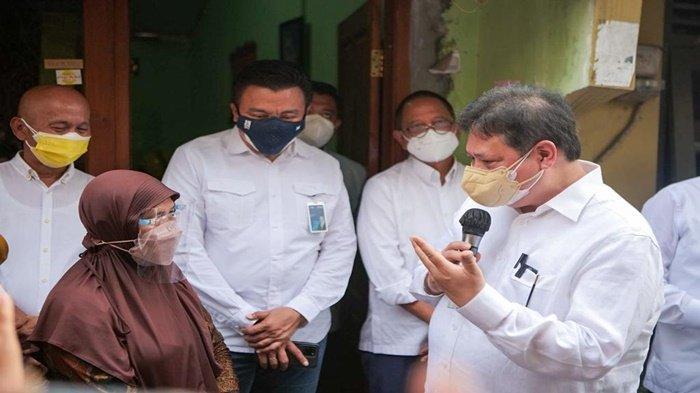 UMKM Dapat Perhatian dari Menteri Perindustrian, Airlangga Kunjungi Kelompok Pemberdayaan Masyarakat