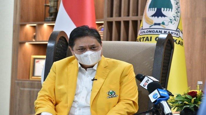 Airlangga Hartarto: Partai Golkar Terus Berjuang Sukseskan Strategi Pemerintah Tangani Covid-19