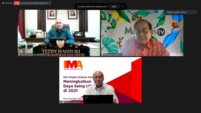 IMA Chapter Webinar Series : Meningkatkan Daya Saing UKM di 2021