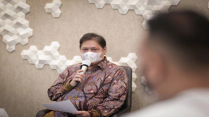 Menko Airlangga : Protokol Kesehatan Kunci Tangani Pandemi Covid-19