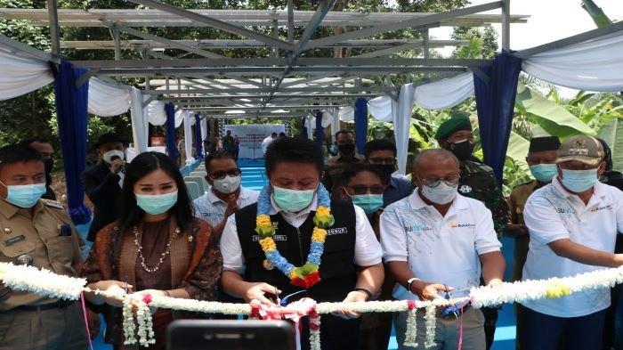 PLTS Tanjung Raja yang Dibangun PTBA Resmi Beroperasi Ini Kata Warga