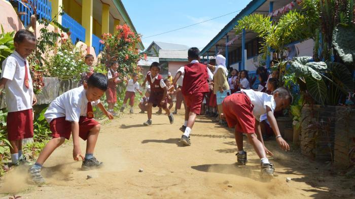 Meriahkan Hut Ri Dengan Permainan Tradisional Sriwijaya Post