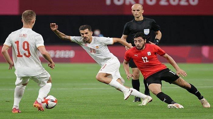 Jadwal Sepakbola Olimpiade Tokyo 2020, Fase Semifinal Ada Meksiko vs Brasil, dan Jepang vs Spanyol