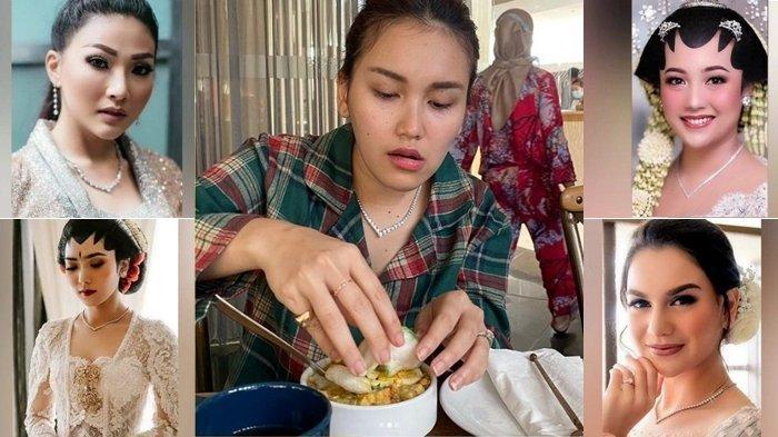 Meski Mirip Netizen Ungkap Harga Kalung yang Dipakai Ayu Ting Ting dan Nagita, Ibu Bilqis: Brisik Lu