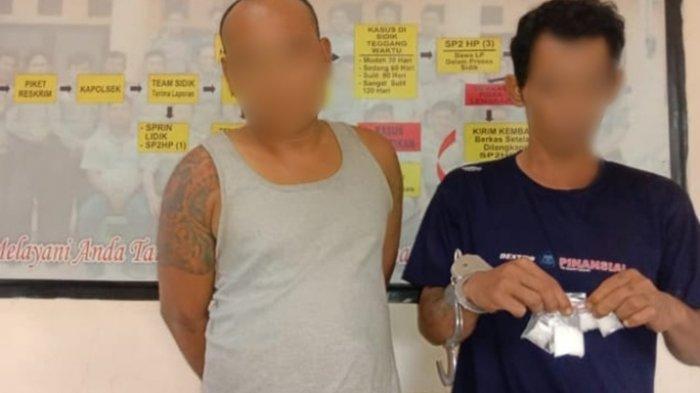 Jadikan Mess Perusahaan Jadi Sarang Narkoba, Dua Pria Ini Diamankan Jajaran Polsek Pulau Rimau