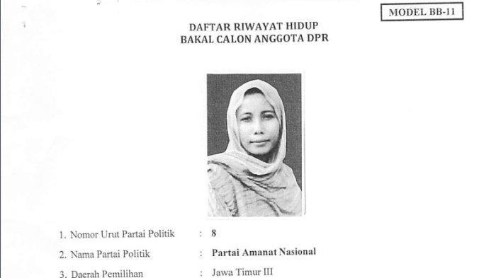 Mila Machmudah Djamhari pernah mendaftar sebagai anggota DPR tahun 2013 silam