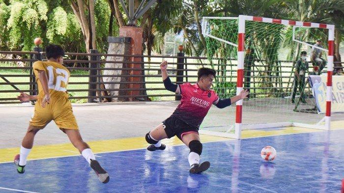 Mini Turnamen Futsal Dengan Protokol Kesehatan Ketat, Tim Muba Cukur Empat Lawang 6-0