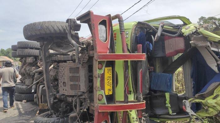 Kecelakaan Maut di Muaraenim Dini Hari Tadi, Seorang Warga Tewas Ditimpa Truk Batubara