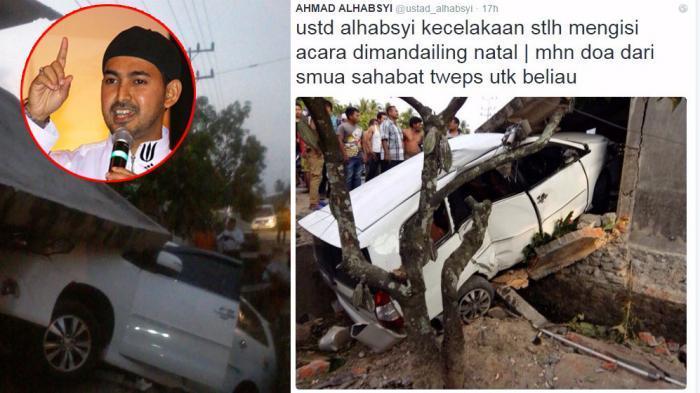 Mobil Tabrak Rumah, Kepala dan Pelipis Ustaz Alhabsyi Harus Dijahit karena Luka Robek