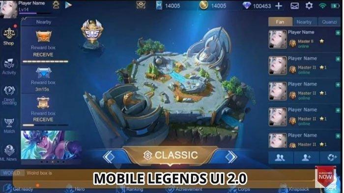 Download (Unduh) Mobile Legends ML Versi 2.0, Anti Lag dengan Tampilan Baru, Tak Perlu Hapus ML Lama