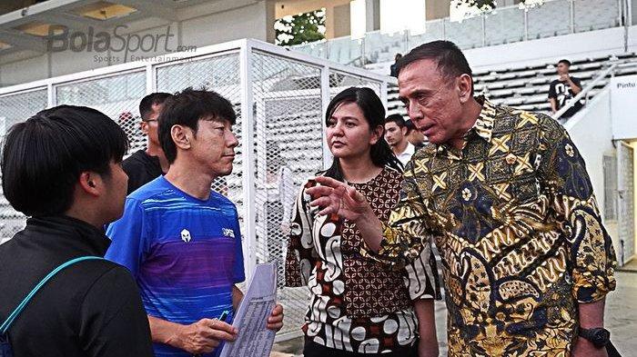 Shin Tae-yong: Saya Tak Tahu Kapan Timnas Indonesia Mulai Pemusatan Latihan ( TC )
