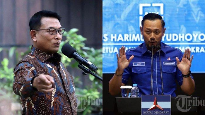 Serangan Balik Kubu Moeldoko, Kini Beberkan Pelanggaran Kubu AHY, Posisi SBY Kontraproduktif