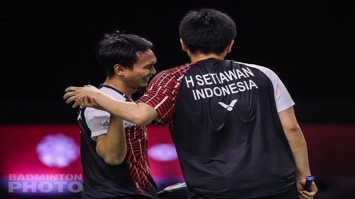 BWF World Tour Finals 2020 - Cukup 2 Game, Ahsan/Hendra Beri Jawaban, Ganda Putra Melesat ke Final