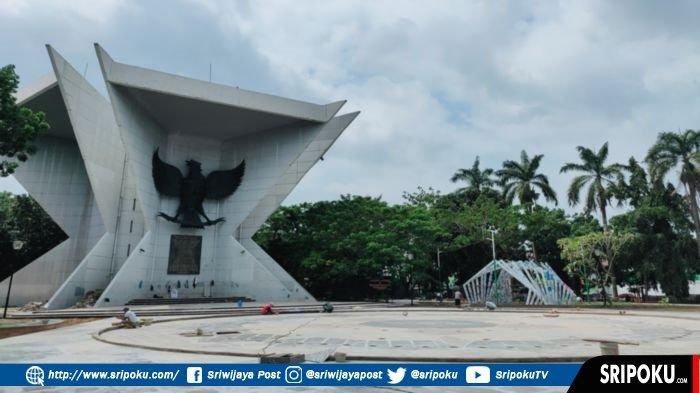 Mengintip Wajah Baru Kawasan Monpera Palembang, Siap-siap Lihat Air Mancur Menari dan Aneka Lampu