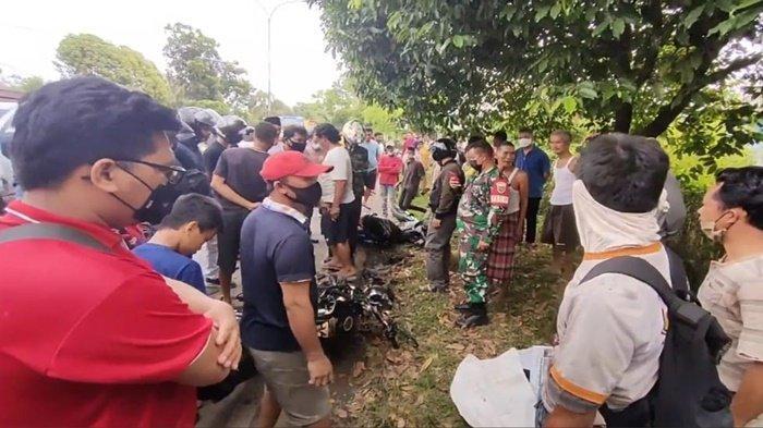 Motor Adu Kambing dengan Motor, Kakek 81 Tahun di Prabumulih Tewas di TKP