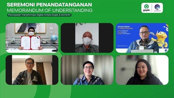 Gojek dan Kemenkominfo Teken Nota Kesepahaman, Percepat Transformasi Digital Indonesia