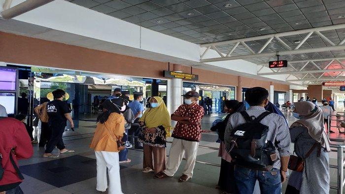 BREAKING NEWS : 5 Ribu Penumpang Mudik dari Bandara SMB II Palembang