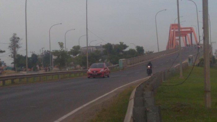 H - 1 Lebaran Jalintim Palembang Terpantau Lenggang