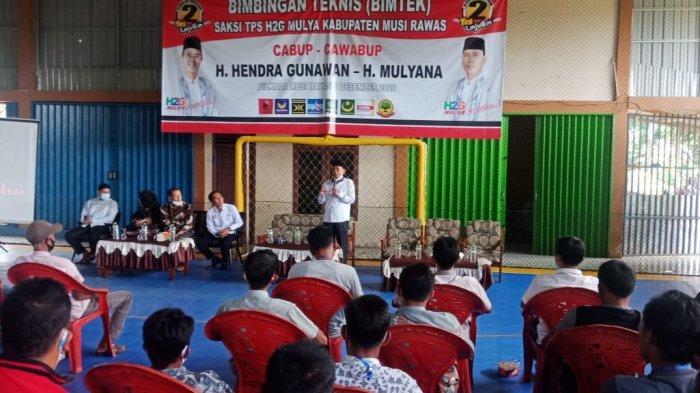 Saksi TPS Paslon H2G - Mulya Ikuti Pembekalan dan Bimtek