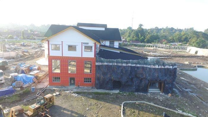 Sebentar Lagi Masyarakat Nikmati Museum Batubara, Progres Pembangunan Museum Capai 90 persen