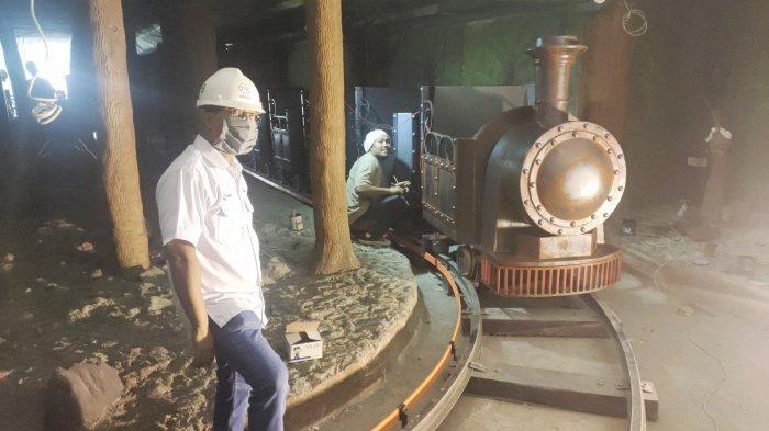 Replika Kereta Api Museum Batubara di Tanjung Enim akan Segera Diuji Coba, Ini Penampakannya!